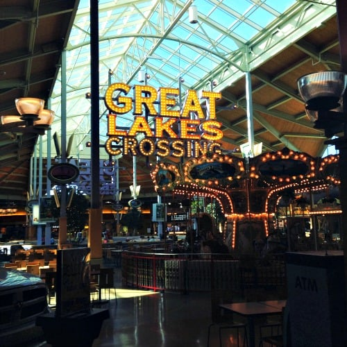 mall near Detroit