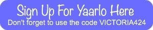 Use my referral link to sign up for Yaarlo | Snail Pace Transformations