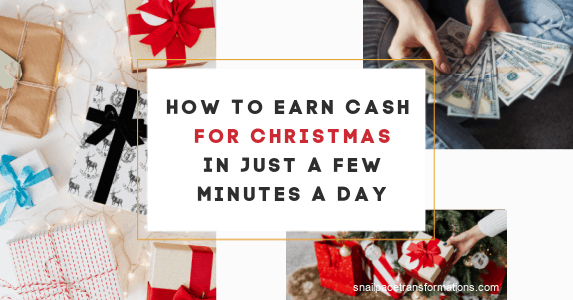 How To Earn Christmas Cash In Just A Few Minutes A Day