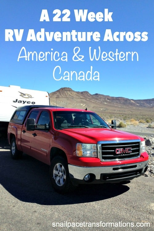A road trip of a lifetime! A 22 week RV trip.