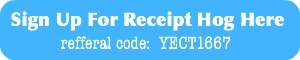 Use my Receipt Hog referral for a bonus spin | Snail Pace Transformations
