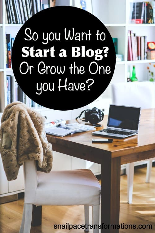 Tips for starting or growing a blog.