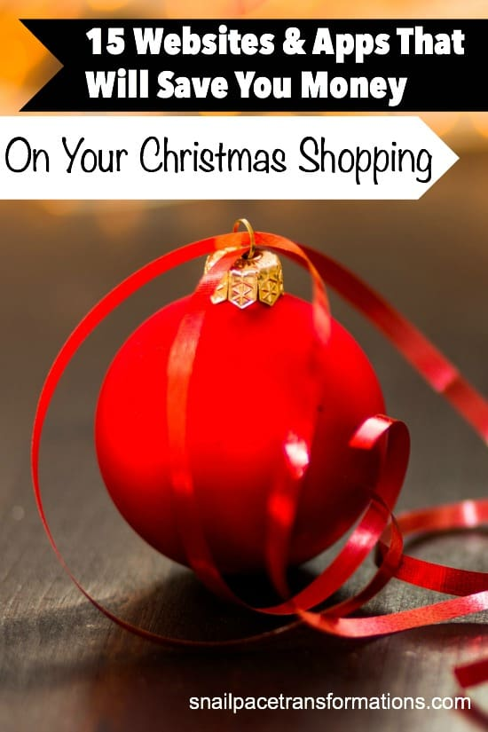 This list of websites and apps will save you a significant amount of money on your Christmas gift shopping.