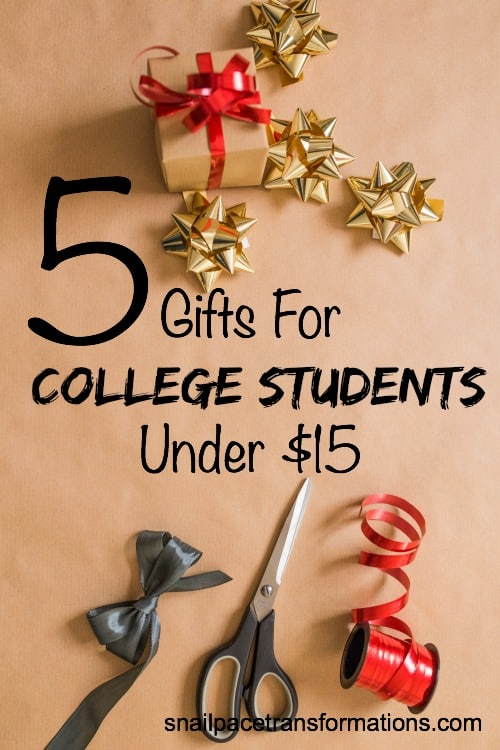 Find that perfect gift for the college student on your Christmas list.
