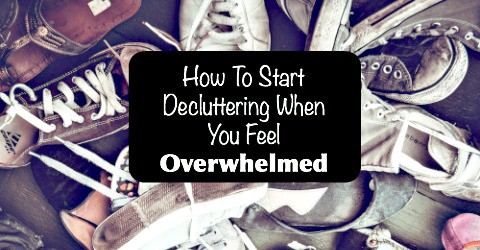 How to Start Decluttering When you Feel Overwhelmed | Snail Pace Transformations