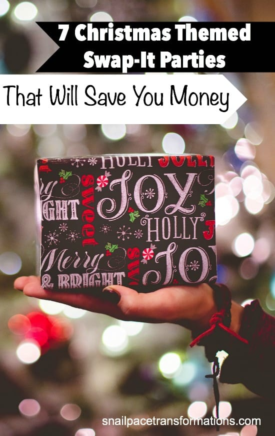 Host these Christmas themed swap-it parties and save money this Christmas.