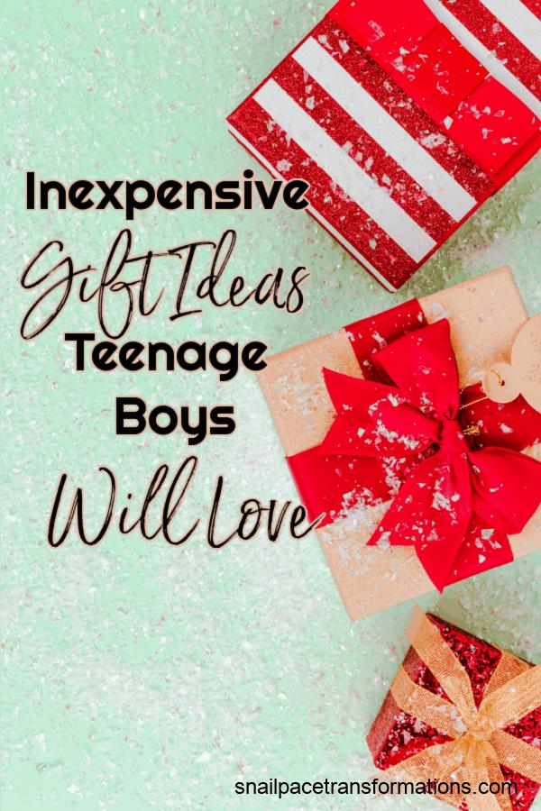 Inexpensive Gift Ideas Teenage Boys Will Love