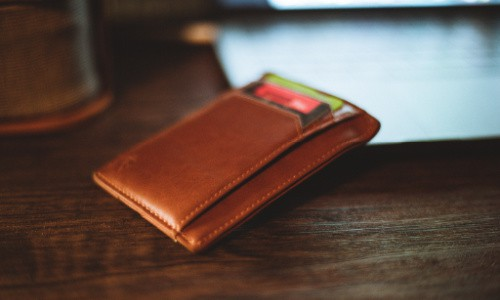 A slim pocket wallet makes a great gift for a teenage boy.