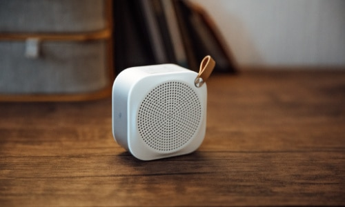 Help your teenage boy share his music--give him a portable speaker as a gift.