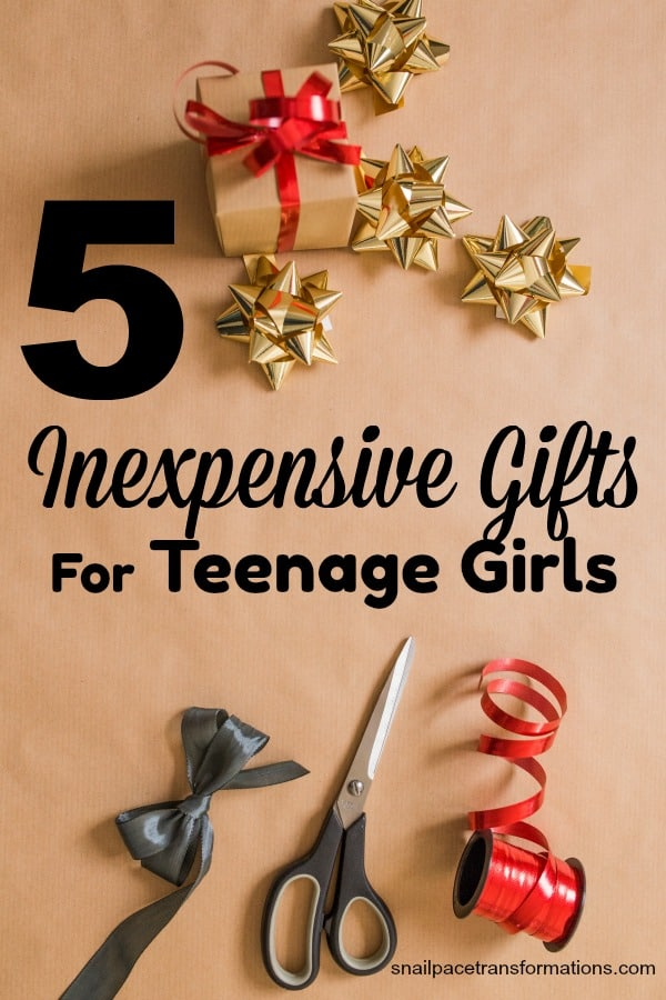 5 inexpensive gifts for teenage girls