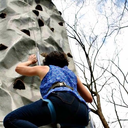 RV Trip Update: Week 1: Atlanta zoo climbing wall
