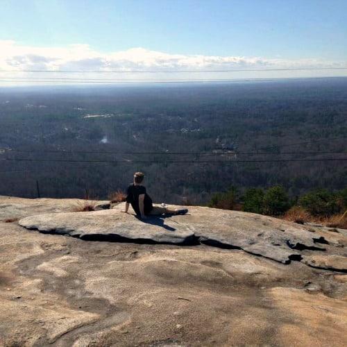 RV Trip Update: Week 1: Atlanta-views on top of Stone Mountain