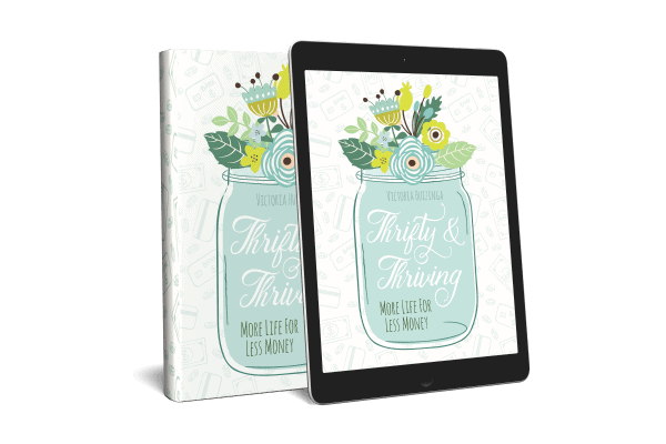 Thrifty and Thriving by Victoria Huizinga of Snail Pace Transformations
