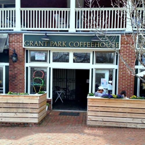 RV Trip Update: Week 1:Atlanta-Grant Park Coffeehouse across from the zoo.