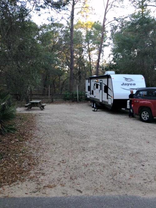 RV Trip: Week 4: Niceville, Fred Gannon Rocky Bayou State Park