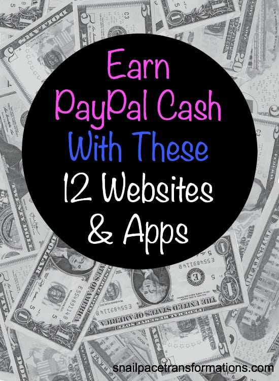 Earn PayPal deposits using these websites and apps. Real cash you can spend on what you want.