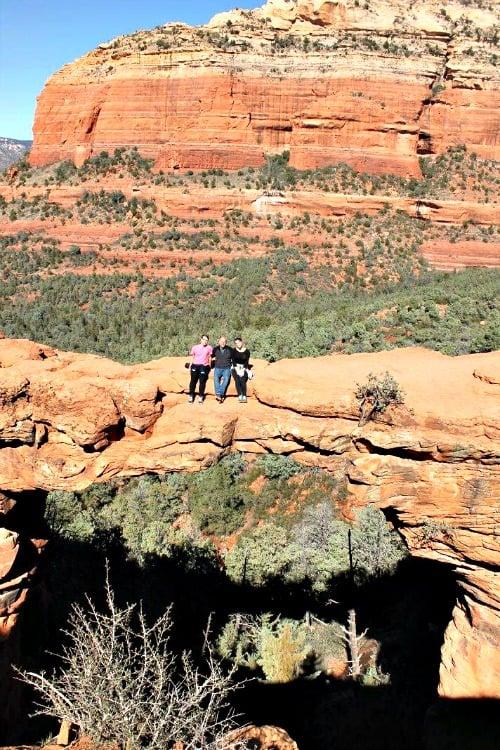 RV Trip: Week 7: Devil's Bridge, Sedona, Arizona.