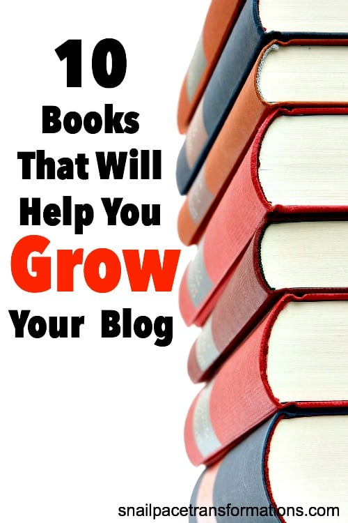 Grow your blog in pageviews and profit with these 10 books.