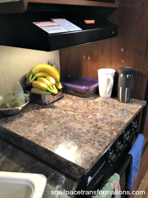 How we doubled the kitchen counter space in our RV and other camping tips.