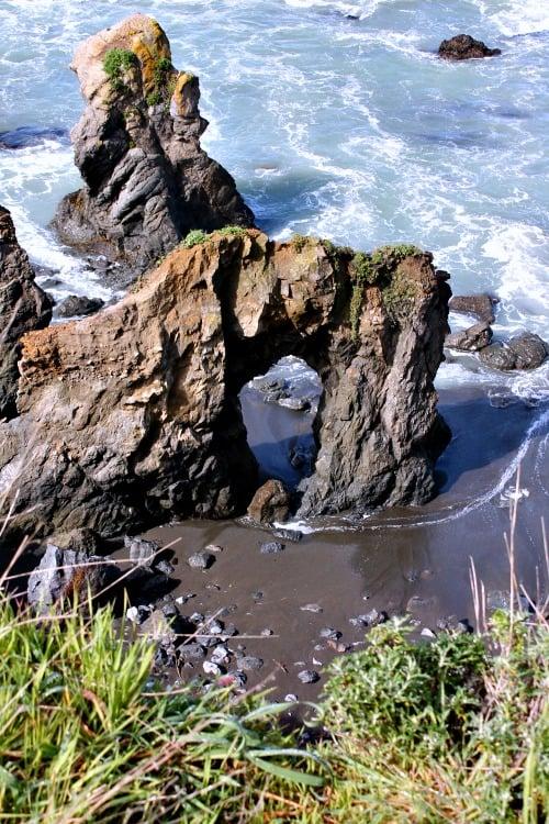 RV Trip Week 11: The coastline of Northern California off Highway One.