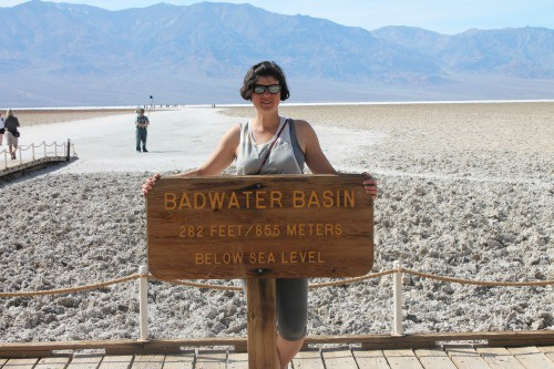 RV Trip | Badwater Basin in Death Valley.