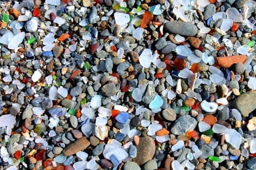 RV Trip Week 11: Sea Glass Beaches of Fort Bragg, California.