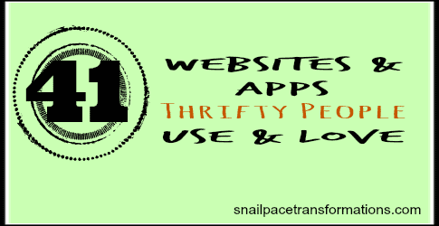 41 Websites and Apps Thrifty People Use and Love