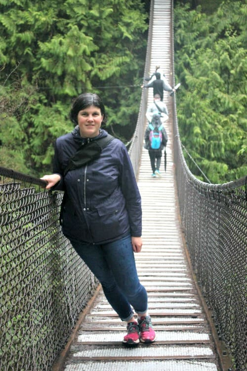 RV Trip: Lynn Valley Suspension Bridge, Vancouver.