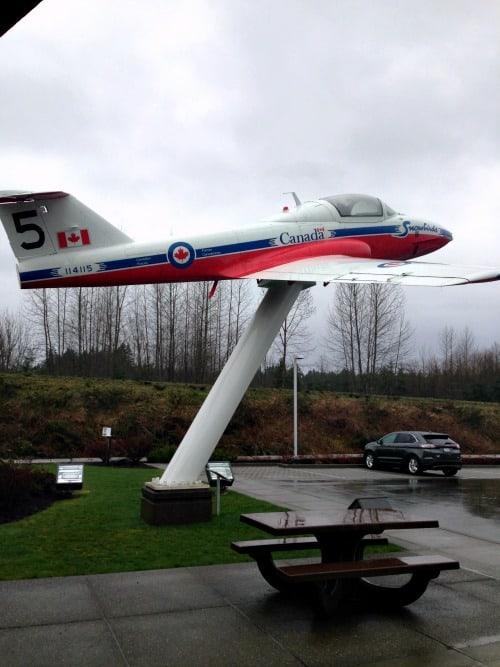 RV Trip: The Snowbirds, Comox Valley, Vancouver Island.