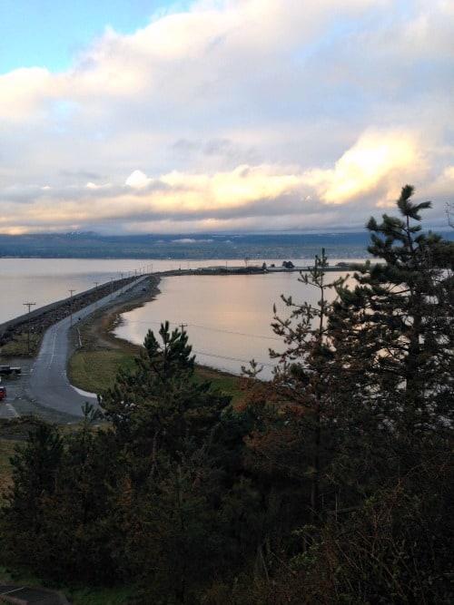 RV Trip: Goose Spit, Comox Valley, Vancouver Island.