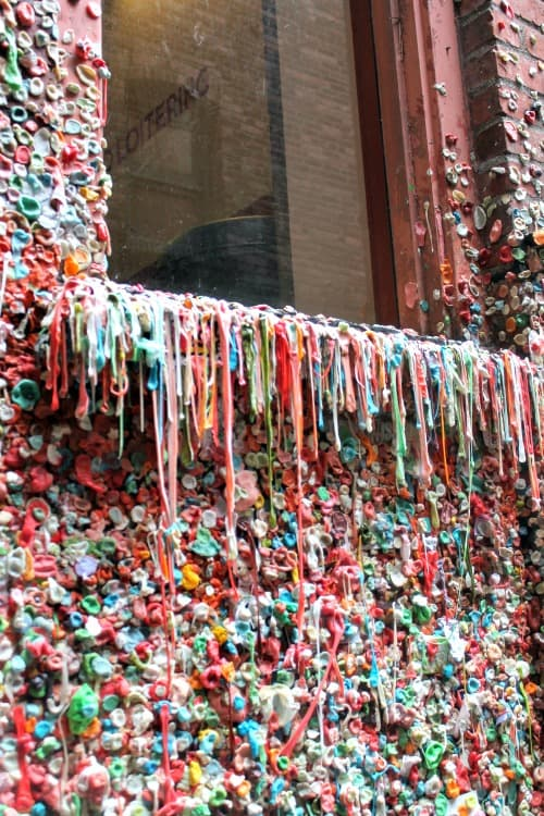 RV Trip Update Week 12: Gum Wall, Seattle.
