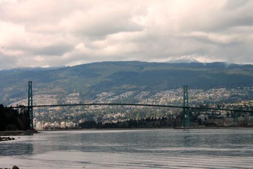 RV Trip: Lion's Gate Bridge, Vancouver.