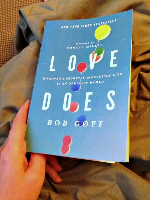 Great read! Love Does by Bob Goff.