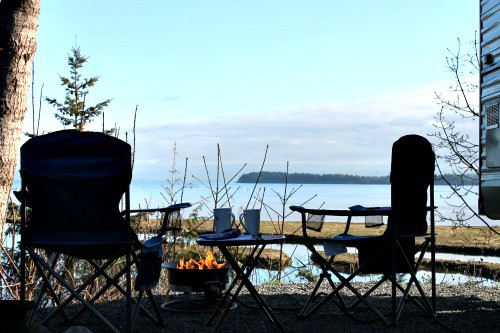Living Forest campground in Nanaimo | Snail Pace Transformations