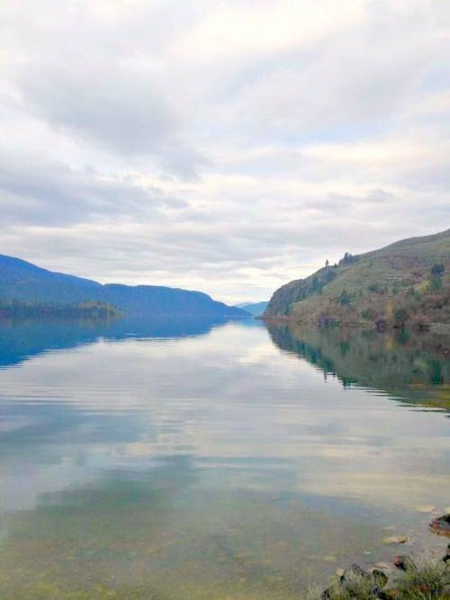Week 15 of 22 week RV road trip. Kalamalka Lake, Vernon, B.C.