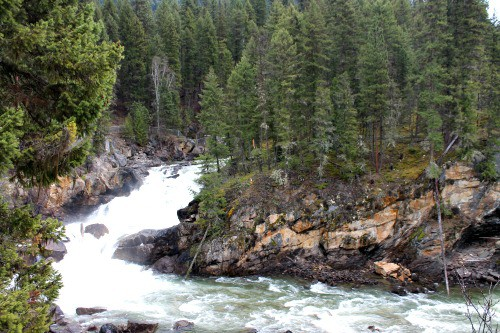 Week 15 of 22 week RV road trip: Shuswap Falls, Lumby B.C.