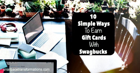 Use the Swagbucks browser extension to save money.