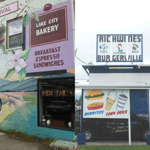 RV Trip Update Week 18: Restaurants we tried in Polson, Montana.