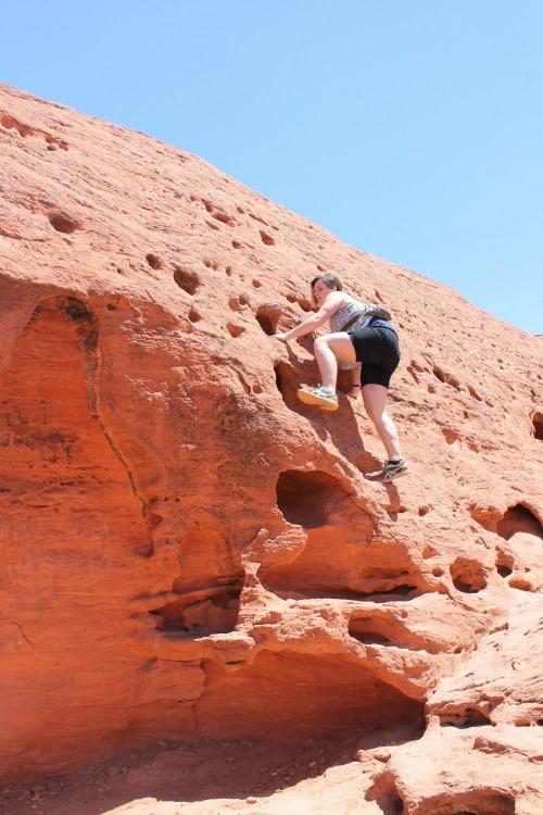 Red Cliffs Desert Reserve: Seen during week 21 of a 22 week RV road trip.