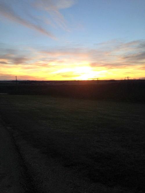 RV Trip Update Week 17: Calagary Sunset