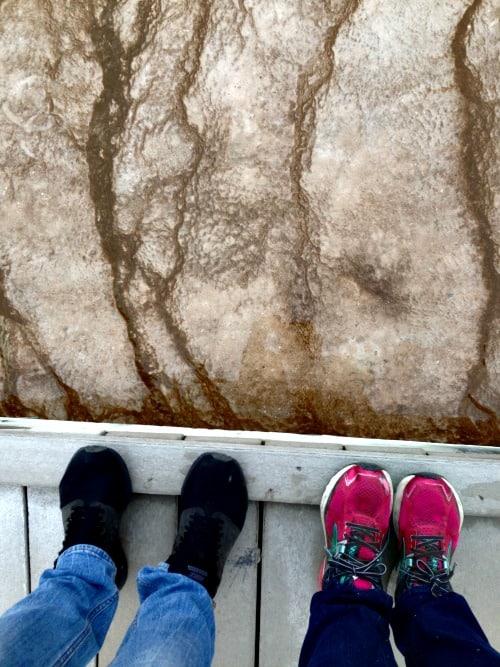 Norris Basin in Yellowstone: Seen during week 19 of 22 week RV trip.