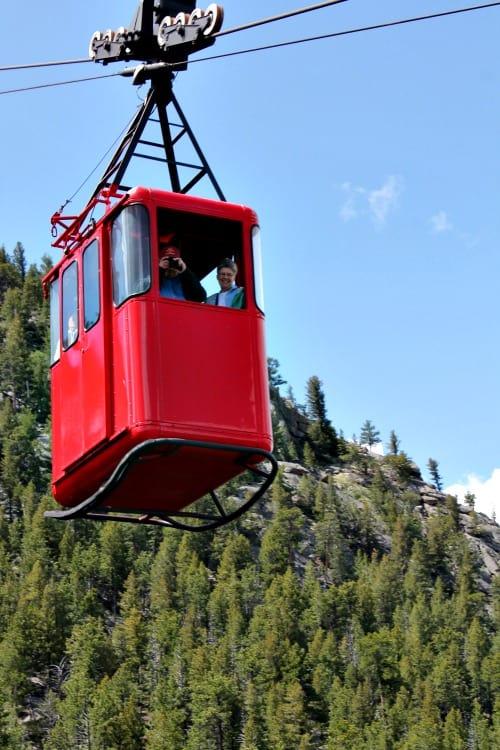Week 21 of a 22 week road trip: Ariel Tramway in Estes Park area, Colorado.