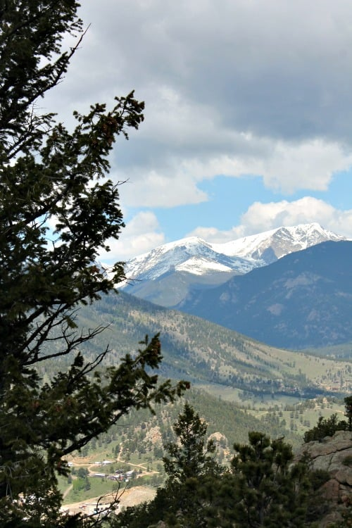 Week 21 of a 22 week road trip: Views from the top of the Ariel Tramway in the Estes Park area, Colorado.