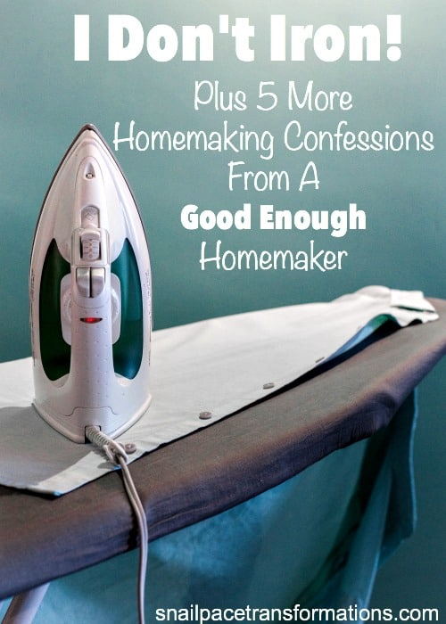 Homemakers you are going to want to read this. Homemaking advice at its best.