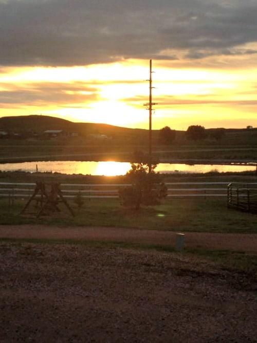 Week 22 of a 22 week RV road trip: A Wyoming sunrise.