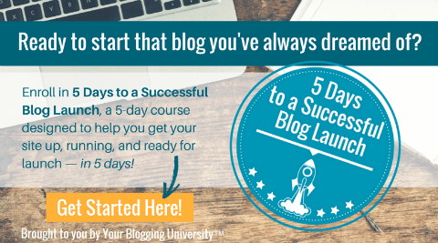 5 Days to a Successful Blog Launch!