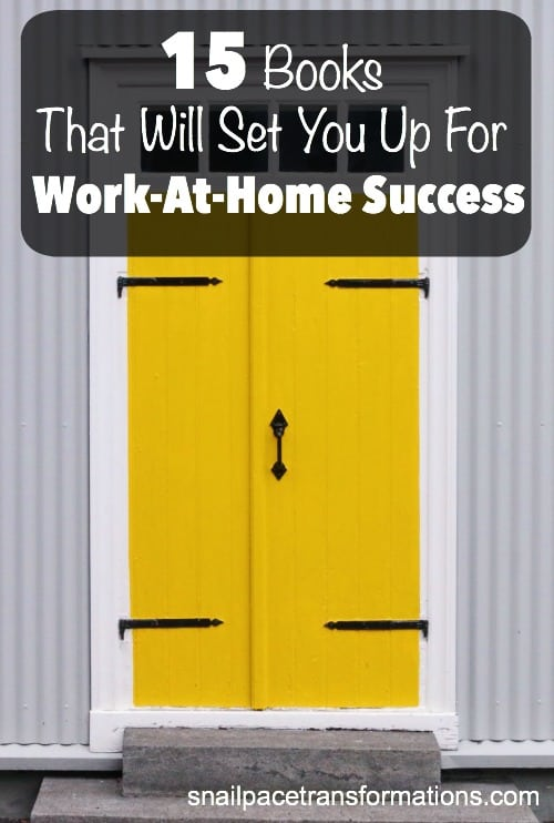 Want to successfully work-at-home? These books can help.