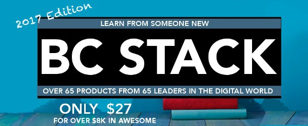 BC Stack bundle on sale now!