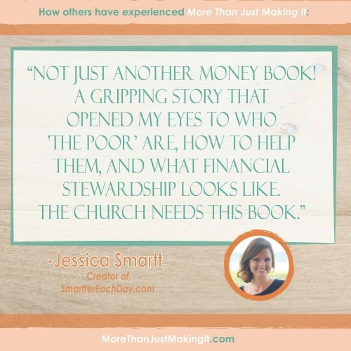 More Than Just Making It: A Book Full Of More Than Just Financial Advice