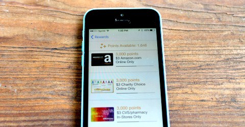 Use Fetch Rewards to earn Amazon gift cards fast.